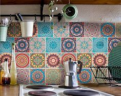 Besten Fliesen Küche Bilder Auf Pinterest Boden Bunte Muster - Fliesen mit motiv für küche
