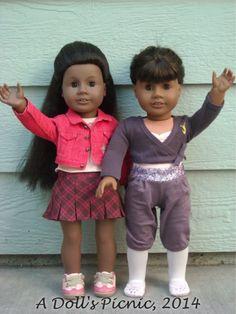 American Girl just like you #1 #45 doll