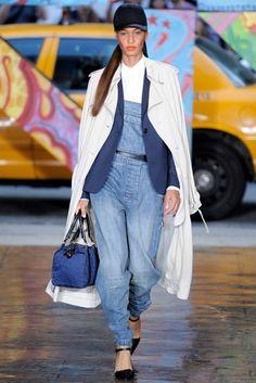 NYFW S/S 14 - Fit baggy e patches no denim da DKNY - Notícias - Guia JeansWear : O Portal do Jeans