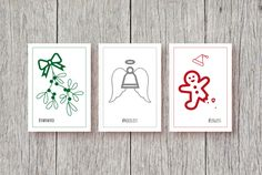 Set of 3 Designs Christmas Cards, Hashtag, Christmas Sayings, Funny Christmas Cards, by ApricotPoodleDesign on Etsy https://www.etsy.com/uk/listing/494638367/set-of-3-designs-christmas-cards-hashtag