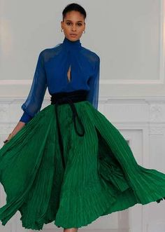 Juan Carlos Obando Fall 2013 Ready-to-Wear Collection - Vogue Runway Fashion, Fashion Models, High Fashion, Fashion Show, Womens Fashion, Fashion Design, Juan Carlos Obando, Winter Typ, Fall Winter