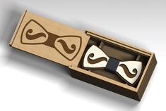 Laser Cut Vector FILE cdr, dxf, for laser cut or cnc router. Bow tie and box. Concrete Lamp, Concrete Design, Laser Cut Box, Laser Cutting, Cardboard Furniture, Art Furniture, Furniture Design, Flexible Plywood, Laser Cut Plywood
