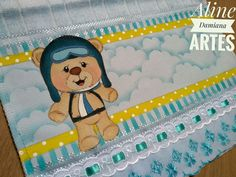 Diy Artwork, Fabric Painting, Lunch Box, Patches, Teddy Bear, Quilts, Nara, Disney, Creative
