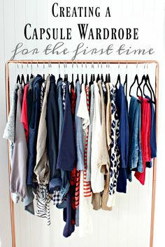 How and why I started a capsule wardrobe... and tips from a beginner.