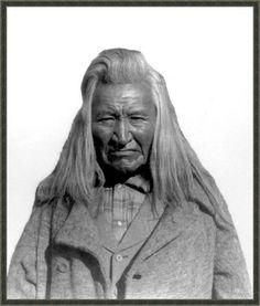 Ka-Ka-She, a shrewd judge of the Flathead nation. Photographed: 1907.