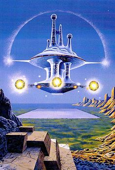 Perry Rodan, Floating City. 80s Sci Fi, 70s Sci Fi Art, Fantasy Kunst, Sci Fi Fantasy, Sci Fi Kunst, Arte Lowbrow, Perry Rhodan, Sci Fi City, Vintage Artwork
