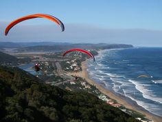 Paragliding in the Garden Route South Africa Olive Garden Dressing, Wonderful Places, Great Places, Salt Water Fish, Garden Route, Adventure Activities, Paragliding, Beaches In The World, Nature Reserve