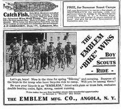 Emblem bicycles | 1919 Emblem Women's Roadster Model 35 | The Online Bicycle ...