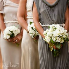 Bridesmaid's Bouquets; but smaller