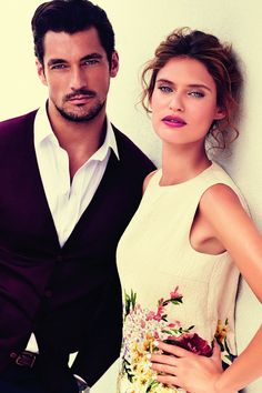 David Gandy and Bianca Balti, the face of Light Blue Pour Femme