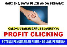 3 Cara Menghasilkan Uang dari ProfitClicking http://tohasyahputra.com/3-cara-menghasilkan-uang-dari-profitclicking.htm