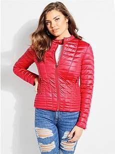 Womens Guess Vona Jacket Puffer New