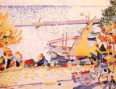 André DERAIN, Le port Collioure, 1905