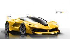 La FXX K, il design senza segreti: la bellezza della velocità