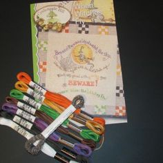 When Witches Fly Pattern with Cosmo Floss Pack