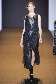 J. Mendel Fall 2011 Ready-to-Wear Fashion Show - Jacquelyn Jablonski
