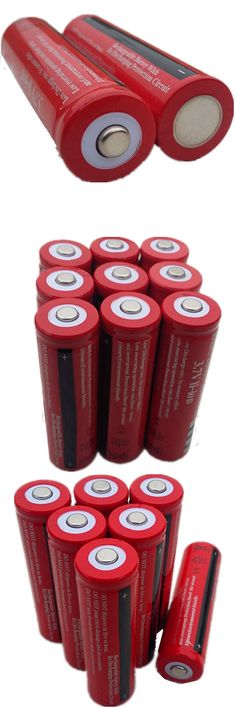DING LI SHI JIA HS 6Pcs 18650 large capacity battery lithium rechargeable battery flashlight 3.7V rechargeable battery bacteria