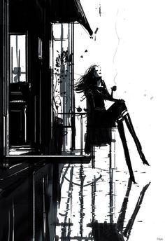 Les Parisiennes: Celine. By Pascal Campion  -They don't like  you Celine. You know that? -I do. -It doesn't bother you? -It would if they didn't like because of who I am. _Why don't they like you? -Because of who they are.