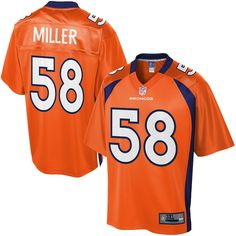 ec726662b Big and Tall Von Miller Jersey Nfl Pro