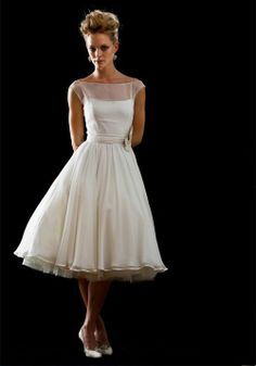 Mad Men Wedding Dress