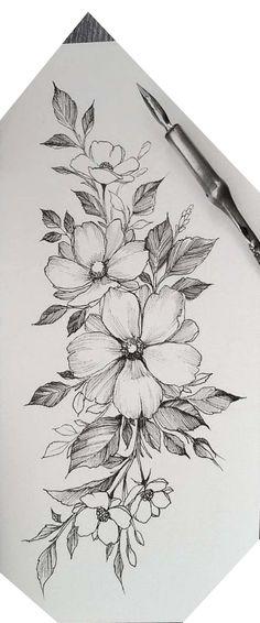 Three large Cherokee Rosebuds - one for mom, Nick and Aaron tattoos flower tattoo designs - tattoo style - tatoo feminina - Three large Cherokee Rosebuds one for Mama Nick and Aaron Tattoos flower tattoo designs - # Cute Tattoos, Body Art Tattoos, Hand Tattoos, Small Tattoos, Tattoos For Guys, Ankle Tattoos, Tiny Tattoo, Rosary Tattoos, Wiccan Tattoos