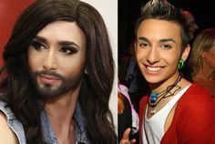 Así es Conchita Wurst, la ganadora de Eurovisión.