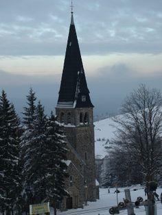 Zieleniec, Duszniki Zdrój, kościół Św. Anny, Dolny Śląsk, Poland