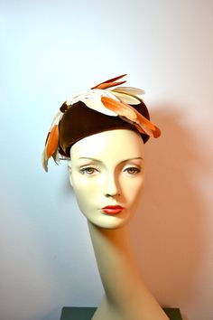1950s Vintage Miss Better Brown Velvet and by TabbysVintageShop, $65.00