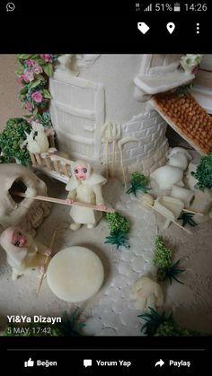 Tejas decoradas 3d, miniatures, Minyatür 3d kiremit süsleme
