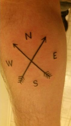 A simple compass. A reminder to always know where home is.