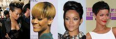 Rihanna's pixie evolution
