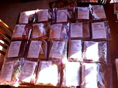 20 Meals Prepared and Ready For Freezer #freezermeals #onceamonthcooking http://www.lorithayer.com/7-hours-food-preparation-simplify-life