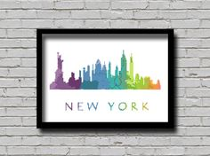 Cross Stitch Pattern New York City by ZGCROSSSTITCHPATTERN on Etsy