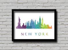 Cross Stitch Pattern New York City by ZGCROSSSTITCHPATTERN on Etsy
