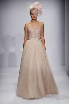 Watters Fall 2014 Wedding Dresses Collection - see more http://www.itakeyou.co.uk/wedding/watters-fall-2014-wedding-dresses/