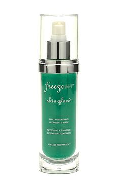 i swear by this cleanser. doubles as a mask! it's totally changed my skin!