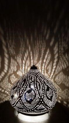 Large Punched Tın Lantern.  Turkısh Hangıng by IstanblueDesign -