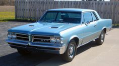 1964 Pontiac GTO 389 CI, 4-Speed presented as lot W236 at Indianapolis, IN