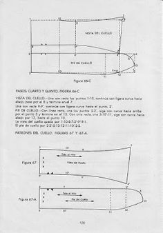 modelist kitapları: CABALLEROS COSTURA Pattern Cutting, Pattern Making, Shirt Collar Pattern, Sewing Collars, Modelista, Skirt Patterns Sewing, Thing 1, Sewing Clothes, Pattern Paper