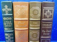 shopgoodwill.com - #40813099 - Set of Easton Press Leatherbound Charles Dickens - 7/1/2017 7:08:00 PM