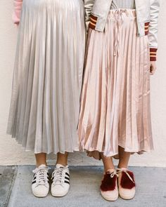 Pleated skirts!