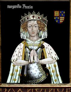 Marguerite Capet Reine D'Angleterre - Margaret of France - 21st Maternal Great Grandmother.  Second wife of King Edward I of England.
