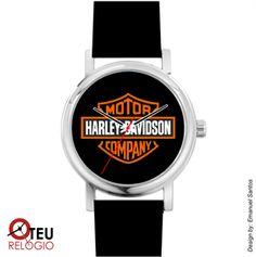 Mostrar detalhes para Relógio de pulso OTR HARLEY DAVIDSON MOTO 002