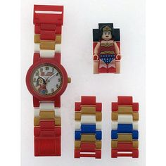 "LEGO Super Hero Watch - Wonder Woman - Clic Time Holdings - Toys ""R"" Us"