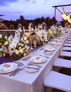 Our Famous Infinity Is A Special Place To Hold Your Wedding Receptions In Boracay Coordinator Weddings Setup Type Round Table Layout With 1