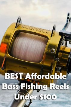 6 Best Bass Fishing Reels Under $100 Fishing Reels, Bass Fishing, Bait Caster, Fly Casting, Live Bait, Types Of Fish, Spinning Reels, Rod And Reel, Big Fish