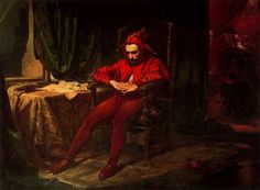 "Radek Czajka's remix of ""Stańczyk"" by Jan Matejko court jester. the most famous court jester in Polish history.He was employed by three Polish kings: Alexander, Sigismund the Old and Sigismund Augustus. Memes Arte, Art Memes, Eminence Grise, Medieval Jester, Medieval Party, C G Jung, Court Jester, Twelfth Night, Rosa Parks"