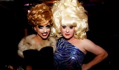 Bianca Del Rio and the Lady Bunny