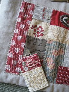 Thrilling Designing Your Own Cross Stitch Embroidery Patterns Ideas. Exhilarating Designing Your Own Cross Stitch Embroidery Patterns Ideas. Sashiko Embroidery, Japanese Embroidery, Embroidery Stitches, Embroidery Patterns, Hand Embroidery, Machine Embroidery, Japanese Quilts, Japanese Fabric, Sacs Tote Bags