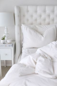 5 Ways to Get Your Home Ready for Spring: Fresh Whites ☁️
